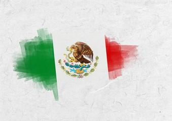 Composite image of mexico national flag