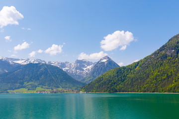 Pertisau at Lake Achensee, Austria