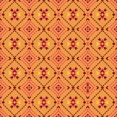 Native american, indian, aztec, geometric seamless pattern.