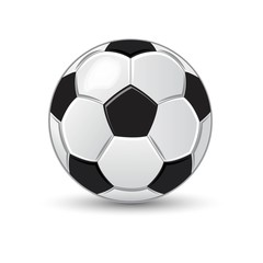 Soccer ball game sport illustration