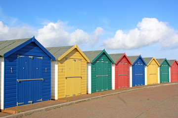 Beach Huts, Dawlish Warren, Devon
