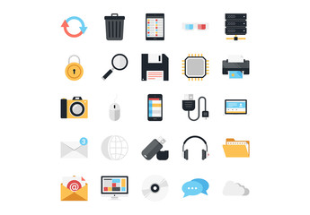 25 Technology and Media Icons