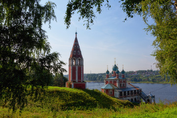 Church of an icon of the Mother of God Kazan . Tutaev, Yaroslavl region. Russia