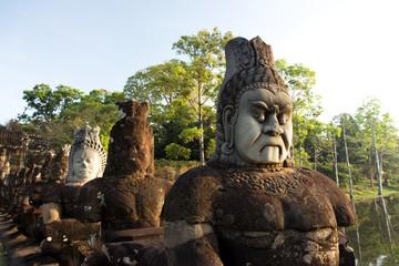 Angkor Thom South Gate, Temples of Angkor, Cambodia