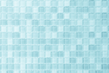 Blue wallpaper tiles mosaic wall high resolution real photo sweet or brick seamless and texture interior background.