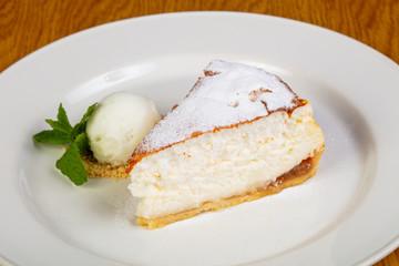 Sweet tasty cheesecake