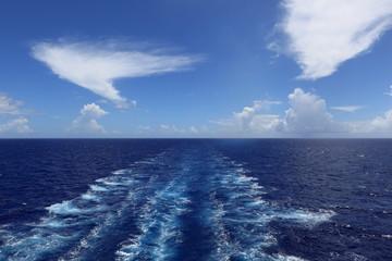 南太平洋の雲