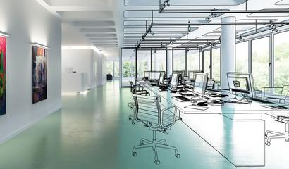 Büroeinrichtung 01 (Projektierung)