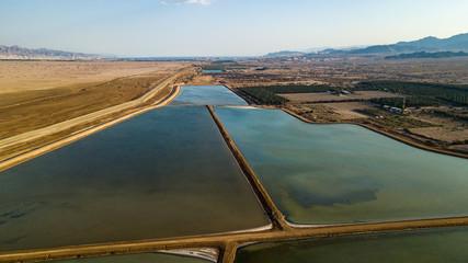 Water Reservoir Near Eilat