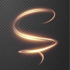 Glowing shiny spiral lines effect vector background. EPS10