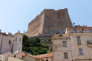 Bonifacio citadel in Corsica