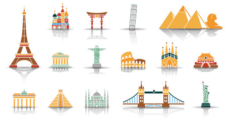 Landmarks of the World - Iconset
