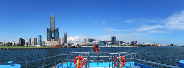 Panoramic View of Kaohsiung City