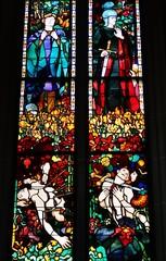 Glasfenster, Kathedrale, Fribourg
