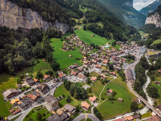 Staubbachfall in switzerland