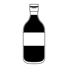 Drink bottle isolated vector illustration graphic design