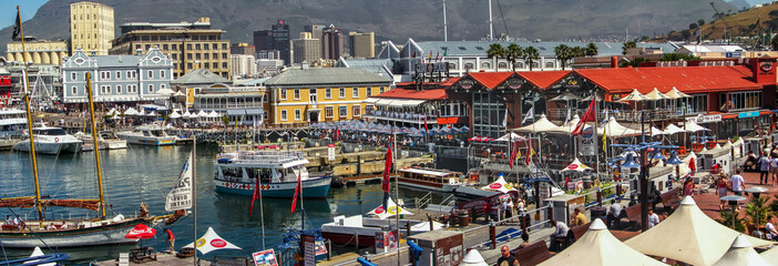 Cape Town Waterfront Panorama Fototapete