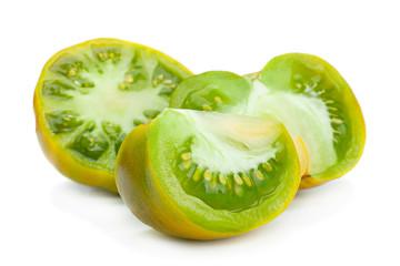 Green ripe tomatoes