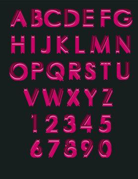 abecedario dulces