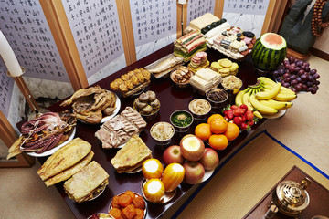 Traditional Korean New Year food