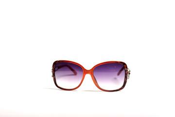 Women Fashionable Sunglasses on white background