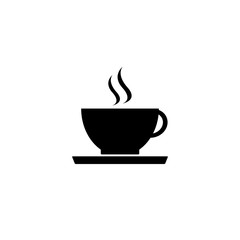 icon hot coffee cup