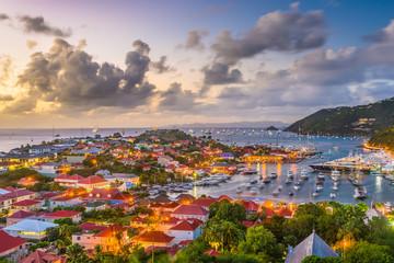 Gustavia, St. Barths in the Caribbean
