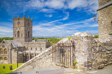 St. Davids Kathedrale in Pembrokeshire, Wales