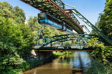 Wuppertaler Schwebebahn; Nordrhein-Westfalen; Deutschland