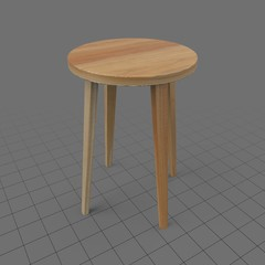 Regular side table