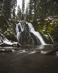 Grotto Falls MT
