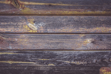 Background of an old, dark planks. Grunge texture
