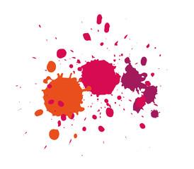 Farbspritzer / paint splashes