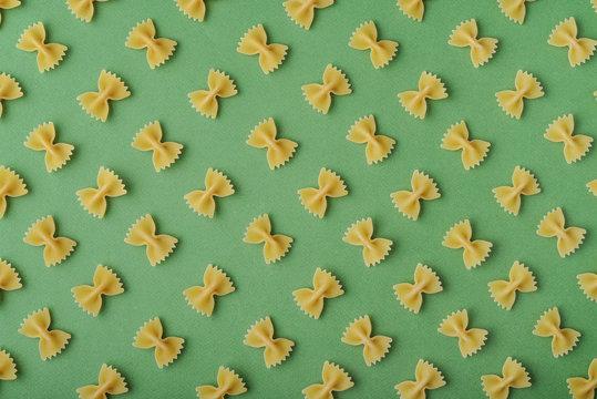 Pattern made of pasta
