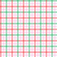 Seamless vector decorative pattern. Textile design in a cage.