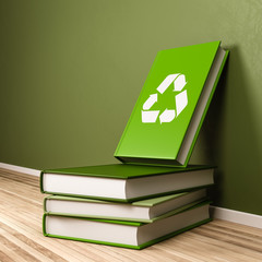 Recyclable Book Concept