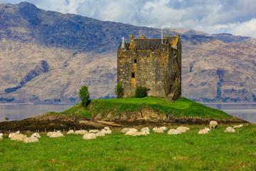 Castle Stalker near Pornacroish, Scotland