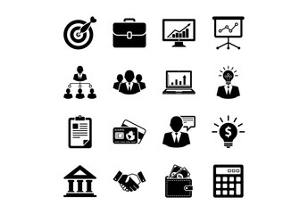 16 Business and Finance Icons