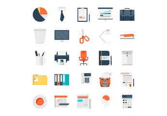 25 Office Work Icons