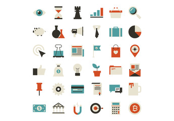 36 Business and Finance Icons