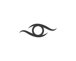 Eye symbol illustration