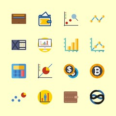 economy icons set. english, table, office and teacher graphic works