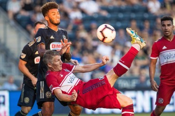 MLS: U.S. Open Cup-Chicago Fire vs Philadelphia Union