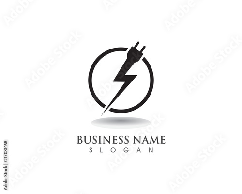 Flash Power Cable Logo And Symbols Stock Image And Royalty Free