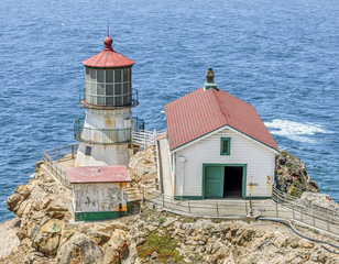 Lighthouse at Point Reyes, California