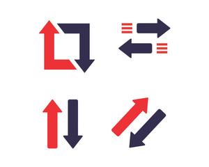 cursor arrow narrow forward image logo vector sign icon