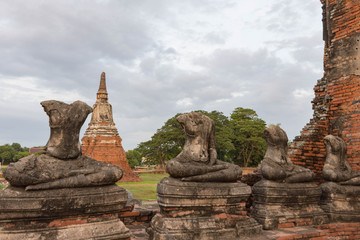 タイ・アユタヤ・遺跡・世界遺産・ワット・チャイワッタナーラーム
