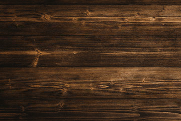 Dark brown wood texture with natural striped pattern background