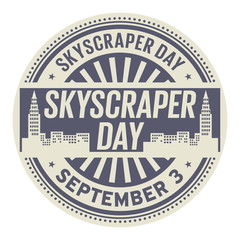 Skyscraper Day, September 3