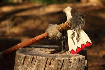 Tomahawk axe made of bone